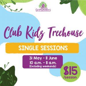 Club Kidz Treehouse – Single Session